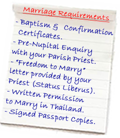 You Will Need To Attend A Meeting Few Days Prior Your Wedding With The Priest Discuss Marriage Ceremony Requirements